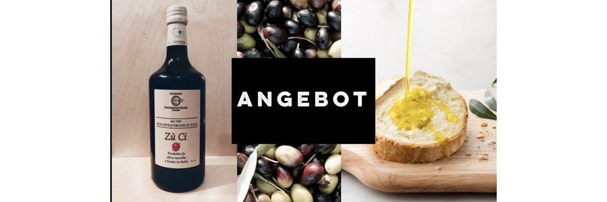 Extra Vergine Olivenöl im Angebot -