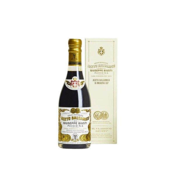 "Aceto Balsamico 2 Medaillen ""Il Classico"" Champagnotta mit Schachtel 250 ml"