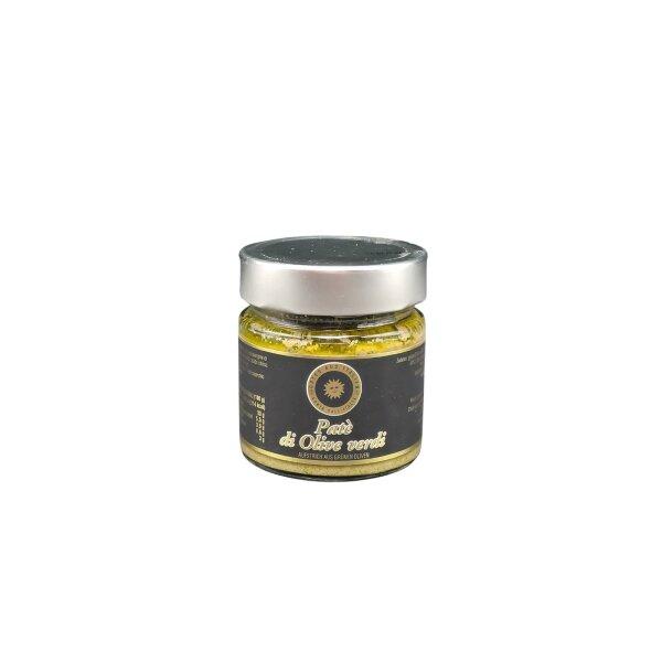 Grüner Olivenaufstrich 180 g