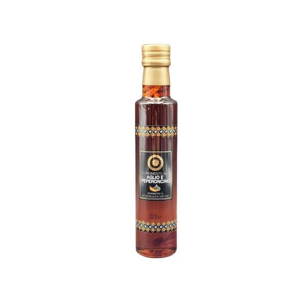 Extravergine Olivenöl mit Chili und Knoblauch 250 ml