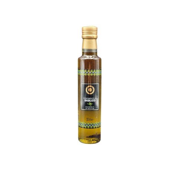 Extravergine Olivenöl mit Basilikum 250 ml