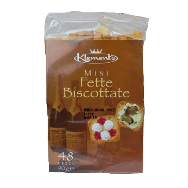 Minifette biscottate (Minitoast) 90 g
