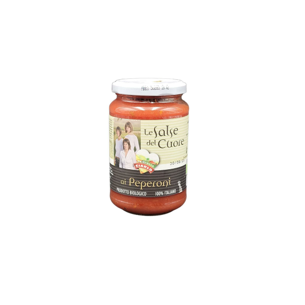 BIO Tomatensoße mit Peperoni 340 g          IT BIO 013