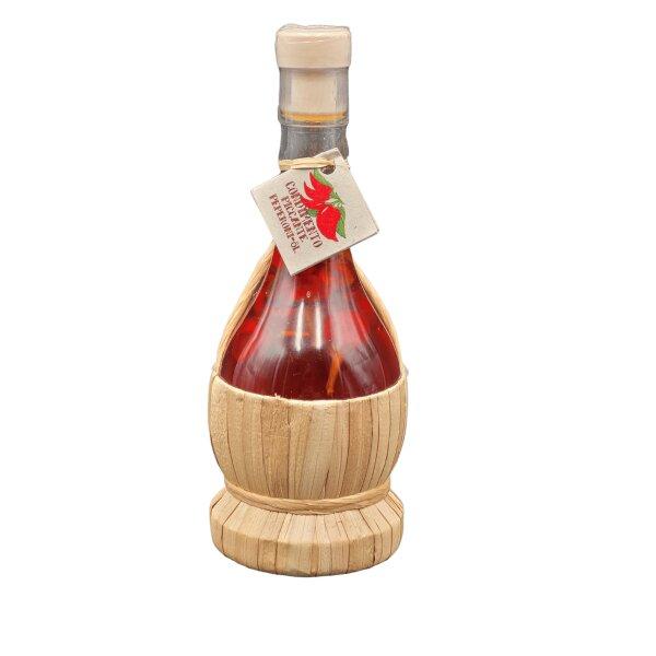 Fiaschetta Olio Extravergine di Oliva con Peperoncino 125 ml
