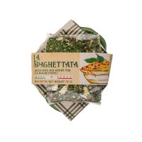 Tongefäß mit Spaghettata Gewürz 80 g