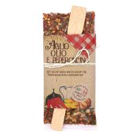 Aglio Olio Peperoncino Gewürz mit Kochlöffel 70 g