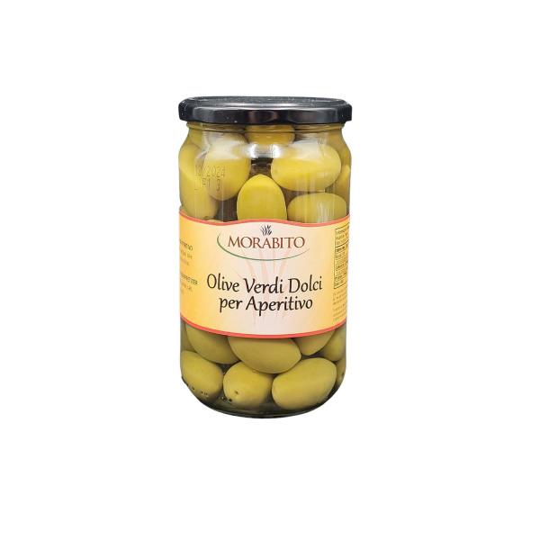 Olive Verdi Dolci Aperitivo 550 g