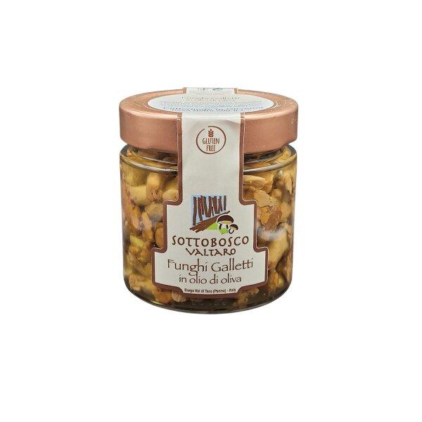 Pfifferlinge in Olivenöl 200 g