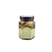 Foglie di Capperir in Extra Verigne Olivenöl 100 g