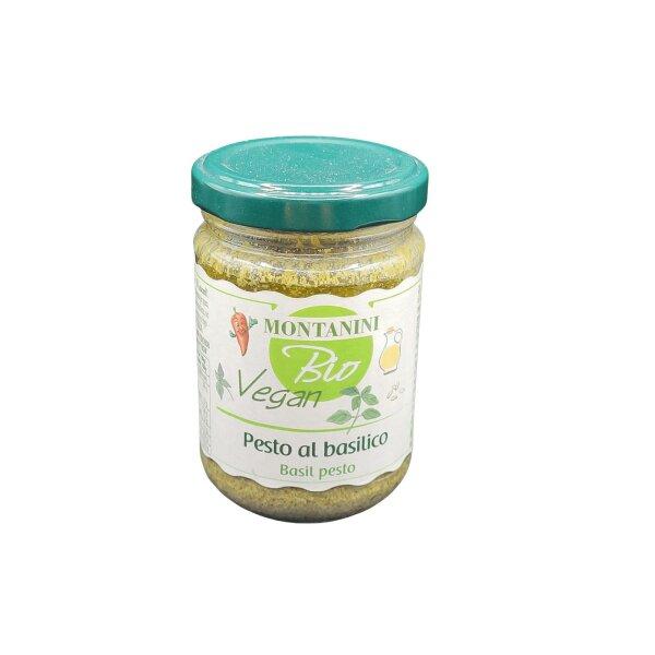 BIO VEGAN Pesto al Basilico 140 g          IT BIO 013