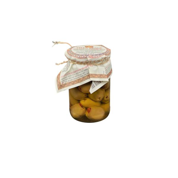 Olive ripiene con pomodoro secco 290 g