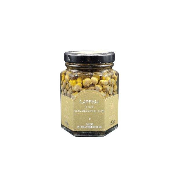 Capperi in olio extravergine di oliva 100 g