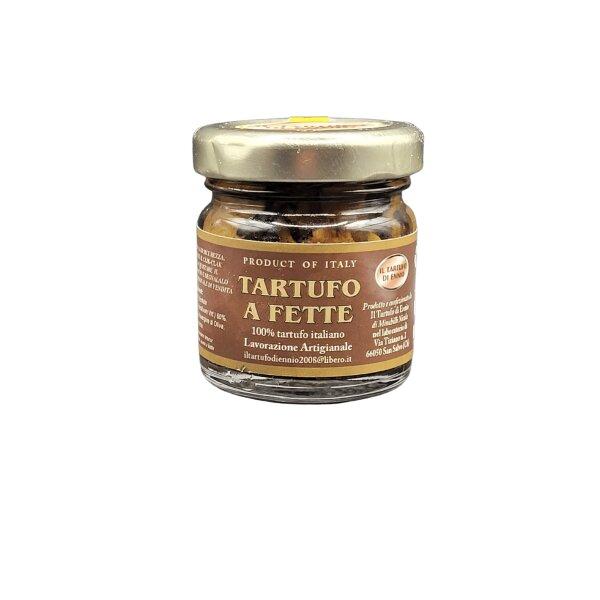 Tartufo Nero a Fette in Olio Extravergine di Oliva 40 g